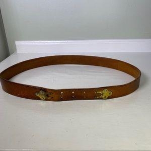 Vintage Bianchi x L.L. Bean Leather Rifle Belt